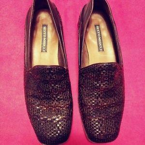 Sesto Meucci 7M Brown Loafers